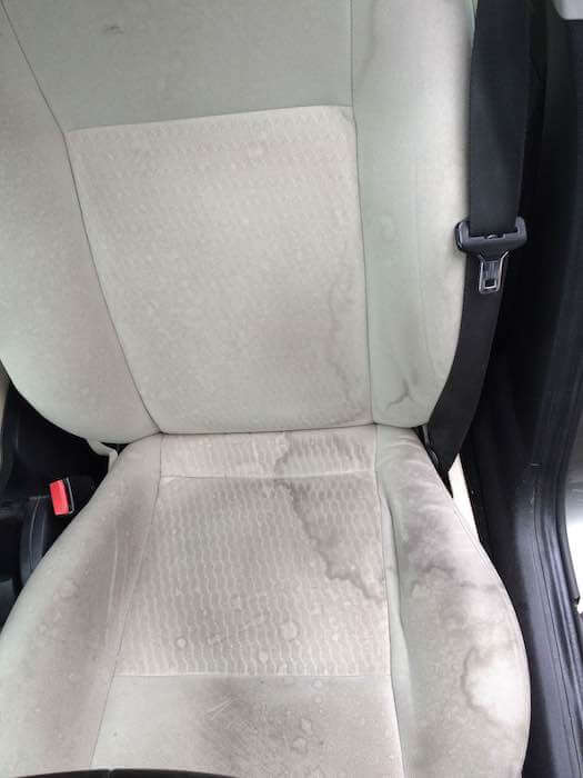 Autostoel voor diepe reiniging